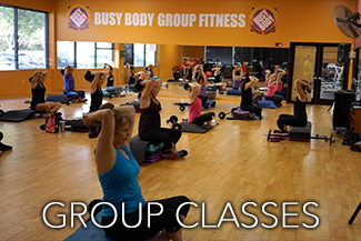 Group Fitness Exercise Classes at Busy Body Fitness Center West