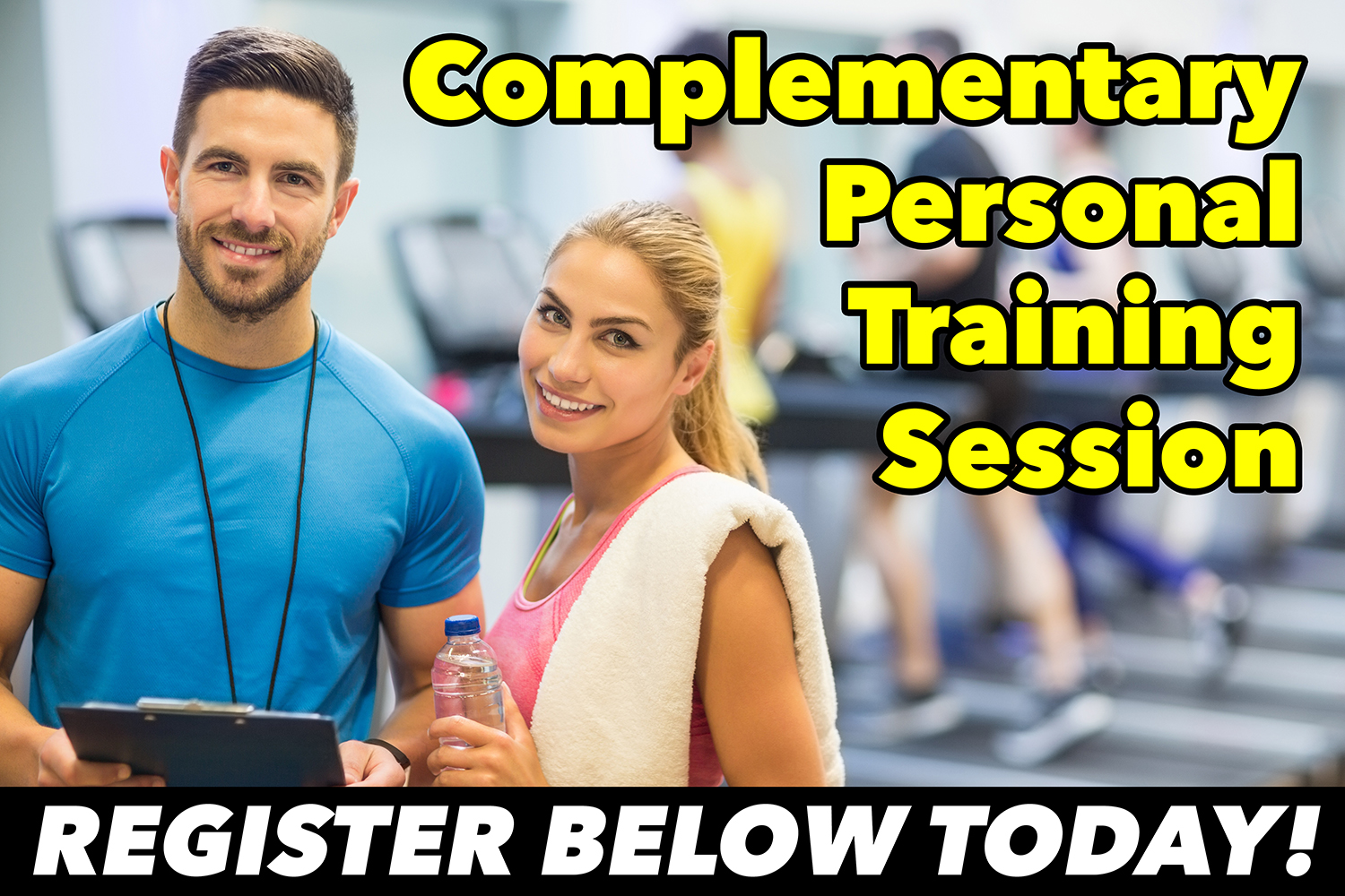 Complementary Personal Training Session