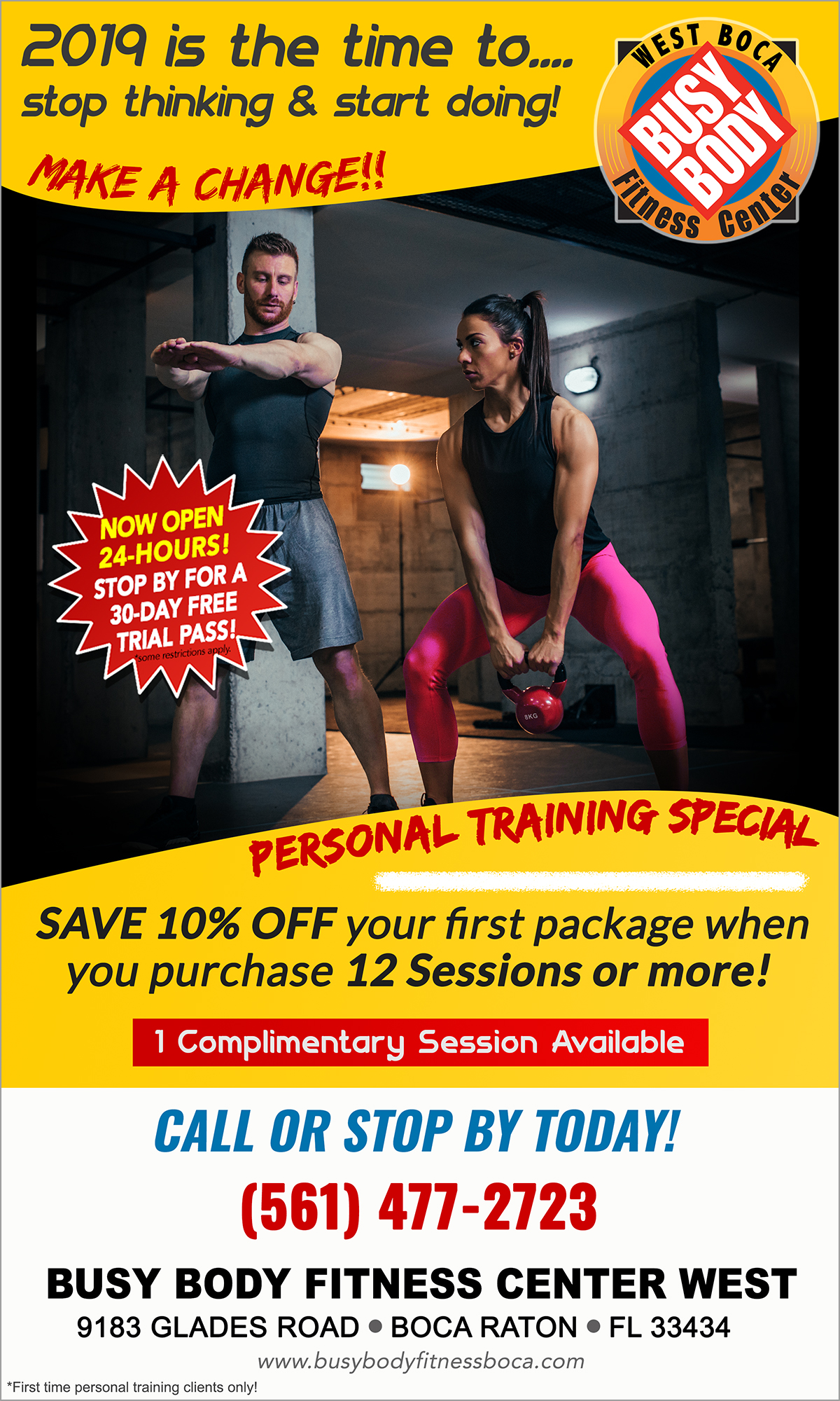 Personal Training Special