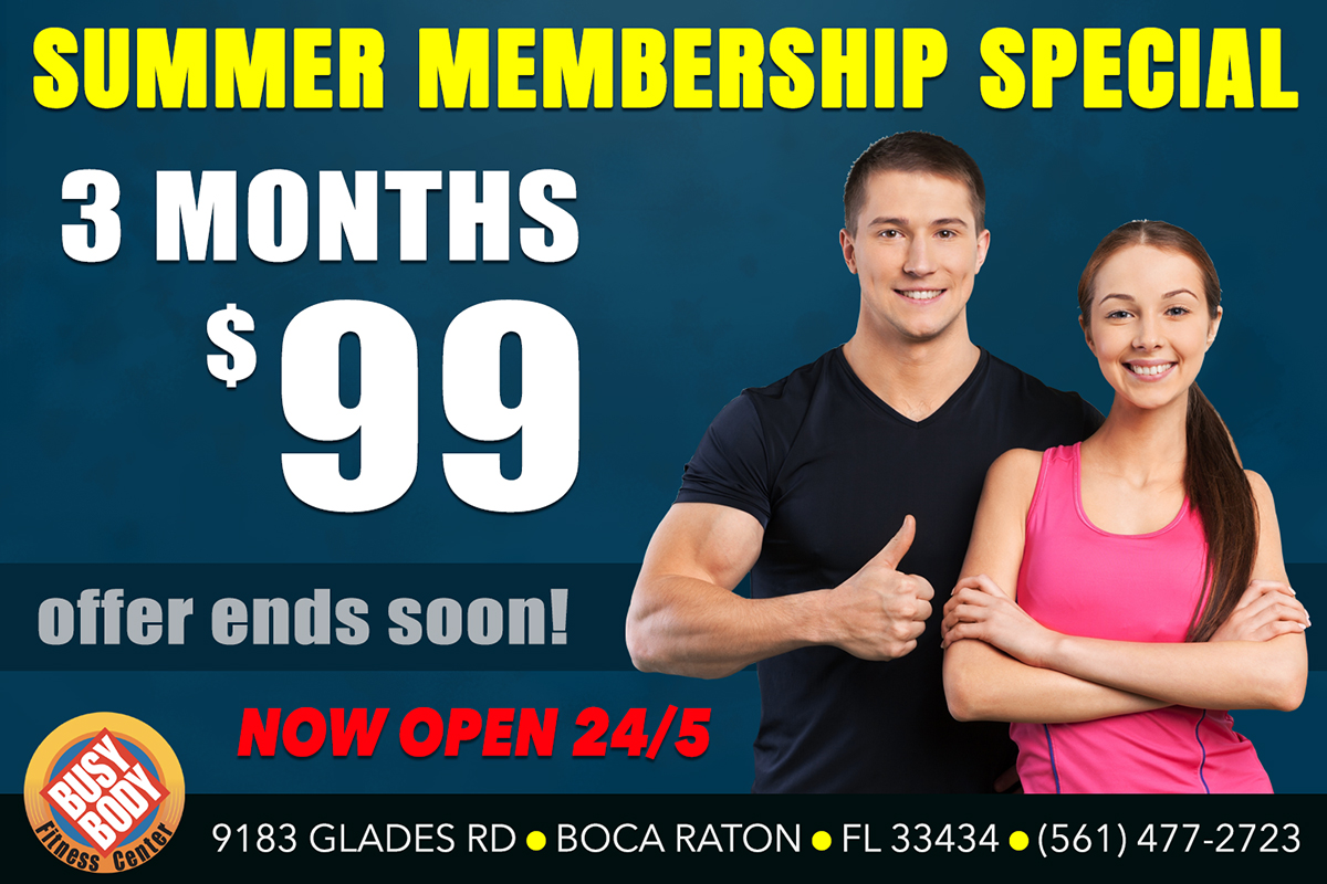 Summer Membership Special - 3 Months or $99
