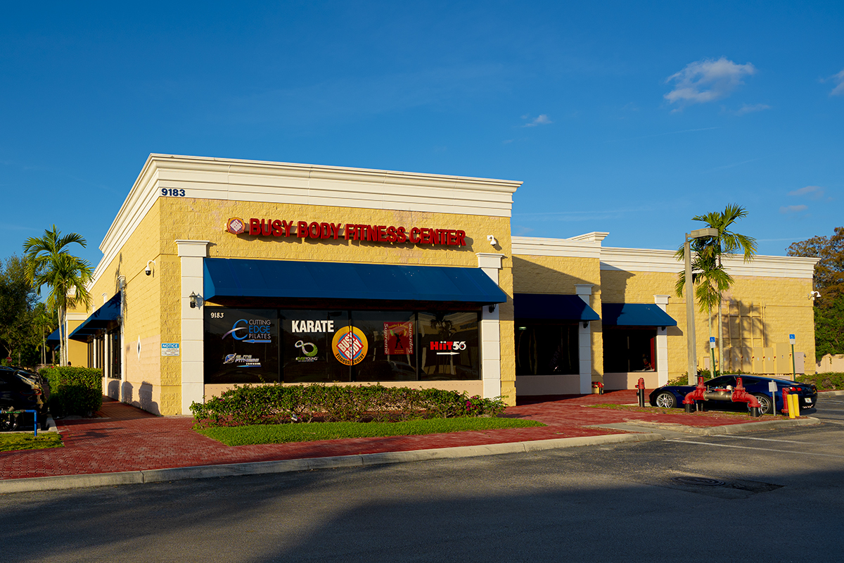 Busy Body Fitness Center West Boca Store Front