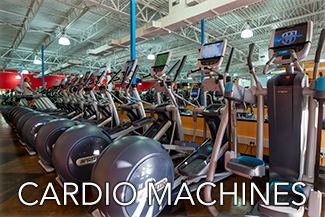 Cardio Machines at Busy Body Fitness Center West